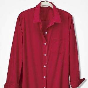 Coldwater Creek  Anytime No-Iron Tunic
